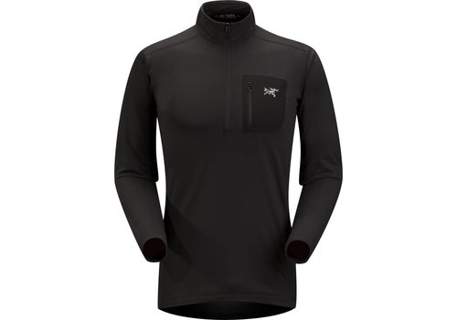 ARC'TERYX Arc'Teryx Mens Rho Lt Zip Neck Black - (17/18)