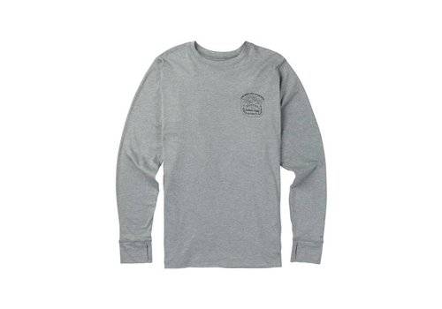 BURTON Burton Mens Midweight Crew Monument Heather -020 (17/18)