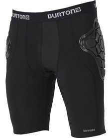 Burton Boys Youth Total Impact Short, Protected By G Form True Black -002 (17/18)