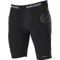 Burton Kids' Burton Total Impact Short, Protected by G-Form True Black -002 (17/18)