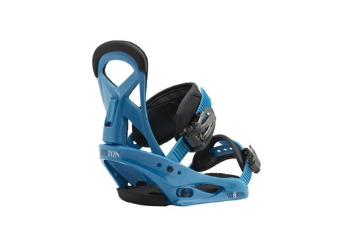 BURTON Burton Boys Mission Smalls Blue Boy Snowboard Binding -402 (17/18)