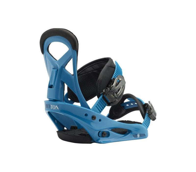 Burton Boys Mission Smalls Blue Boy Snowboard Binding -402 (17/18)