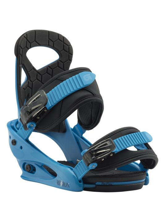 BURTON Burton Boys Mission Smalls Blue Boy Snowboard Binding -402 (17/18)
