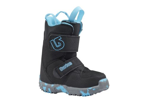 BURTON Burton Boys Mini - Grom Black Snowboard Boot -001 (17/18)