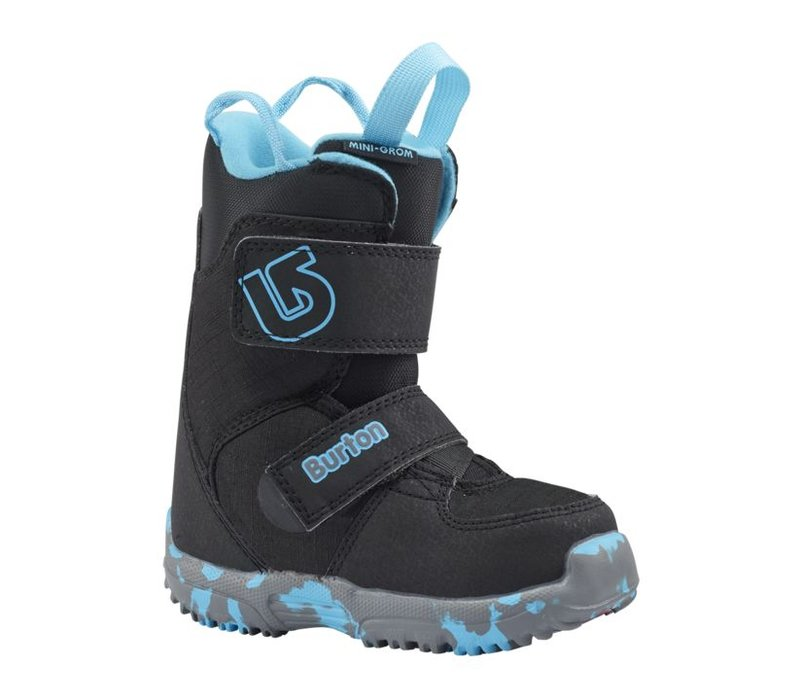 Burton Boys Mini - Grom Black Snowboard Boot -001 (17/18)