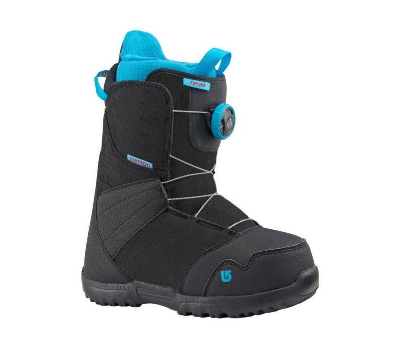 Burton Boys Zipline Boa Black Snowboard Boot -001 (17/18)