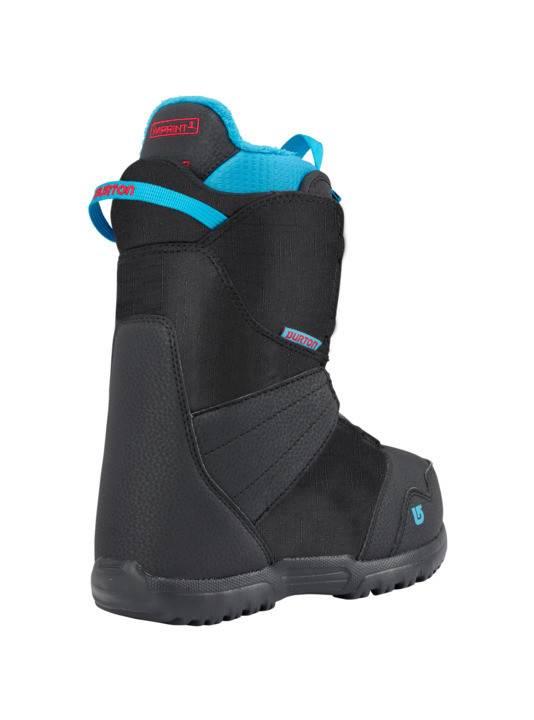 BURTON Burton Boys Zipline Boa Black Snowboard Boot -001 (17/18)