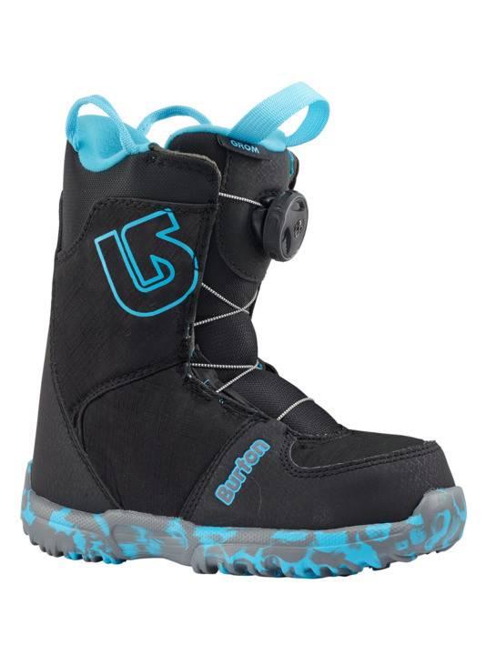 BURTON Burton Boys Grom Boa Black Snowboard Boot -001 (17/18)