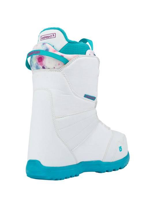 BURTON Burton Girls Zipline Boa White/Frostberry Snowboard Boot -116 (17/18)