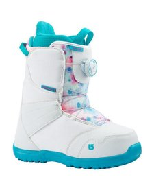Burton Girls Zipline Boa White/Frostberry Snowboard Boot -116 (17/18)