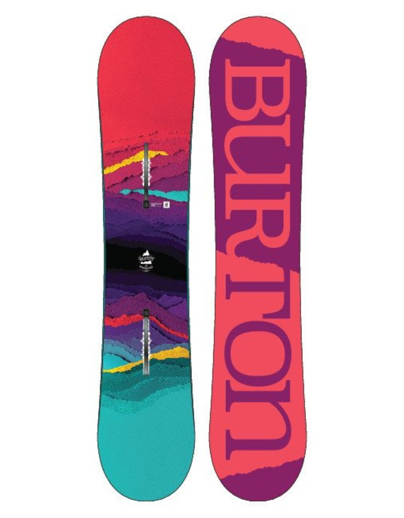 BURTON Burton Girls Feelgood Smalls Snowboard - (17/18)