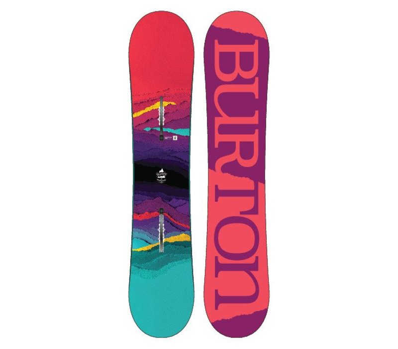 Burton Girls Feelgood Smalls Snowboard - (17/18)