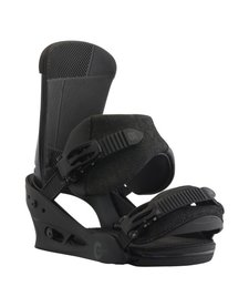 Burton Mens Custom Black Matte Snowboard Binding -004 (17/18)