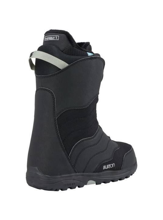 BURTON Burton Womens Mint Boa Black Snowboard Boot -001 (17/18)