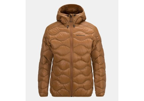 PEAK PERFORMANCE Peak Performance Mens Helium Hood Jacket Honey Brown -1V3 (17/18)