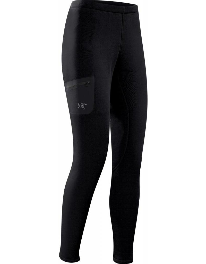 ARC'TERYX Arc'Teryx Womens Rho Ar Bottom Black - (17/18)