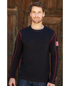Alp-N-Rock Lodge Mens L/S Crew Shirt Black -Blk (17/18)