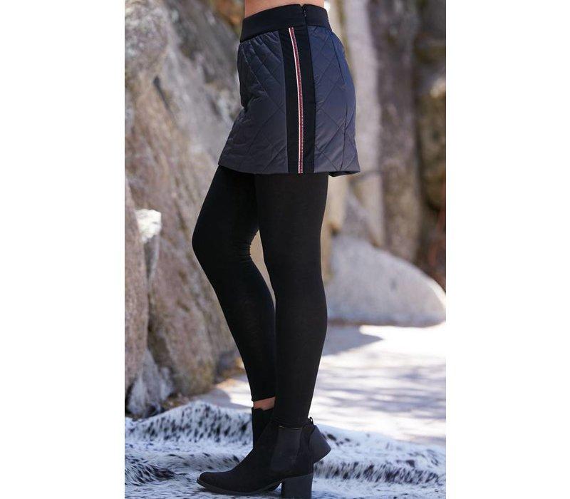 Alp-N-Rock Geneva Ladies Down Mini Skirt Midnight -Mid