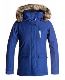 Roxy Jr Tribe Girl Jacket Sodalite Blue -Byb0 (17/18)