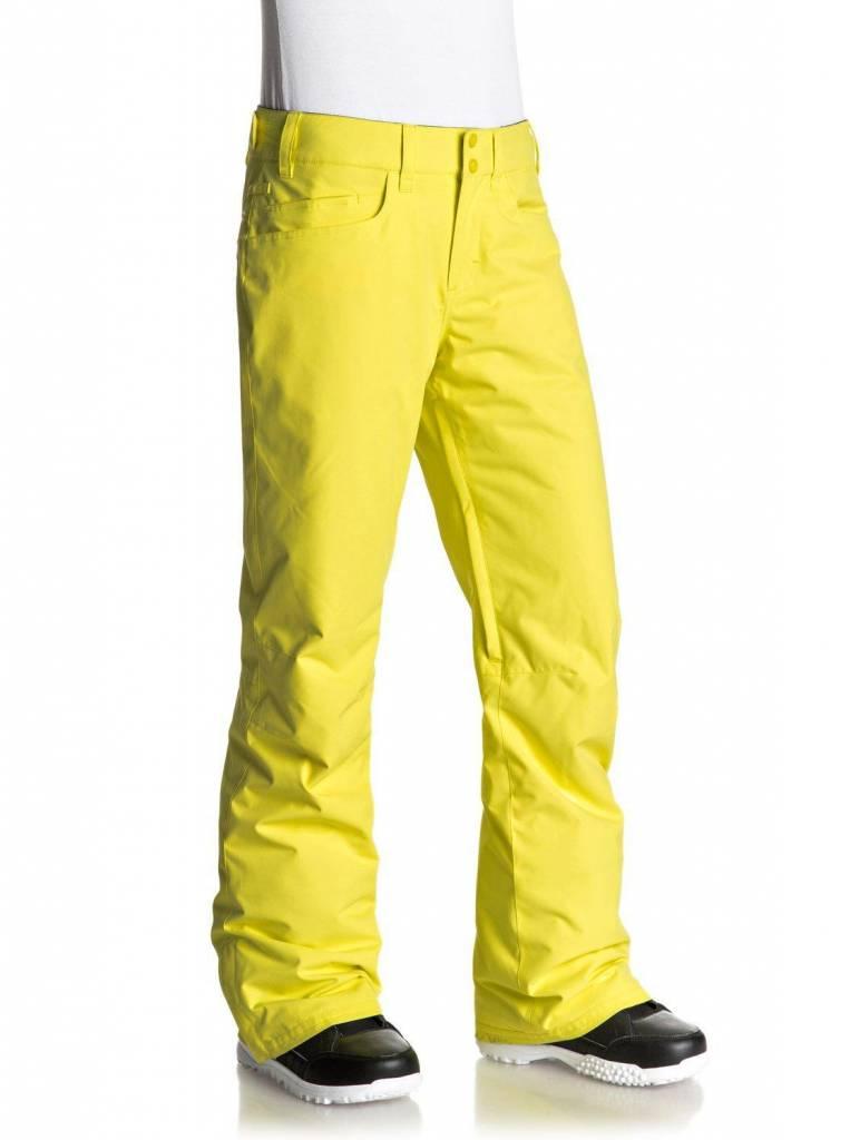 ROXY Roxy Womens Backyard Pant Lemon Tonic -Yfk0 (17/18)