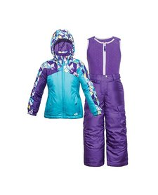 Jupa Girls Olivia 2Pc Suit Belize Blue -Bl037 (17/18)