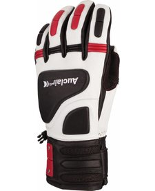 Auclair Mens Derailer Glove White/Red -8104 (17/18)