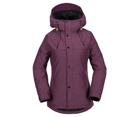 VOLCOM Volcom Womens Bolt Ins Jkt Orchid Pink -Orc (17/18)