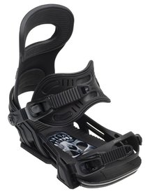 Bent Metal Mens Transfer Snowboard Binding Black - (17/18)