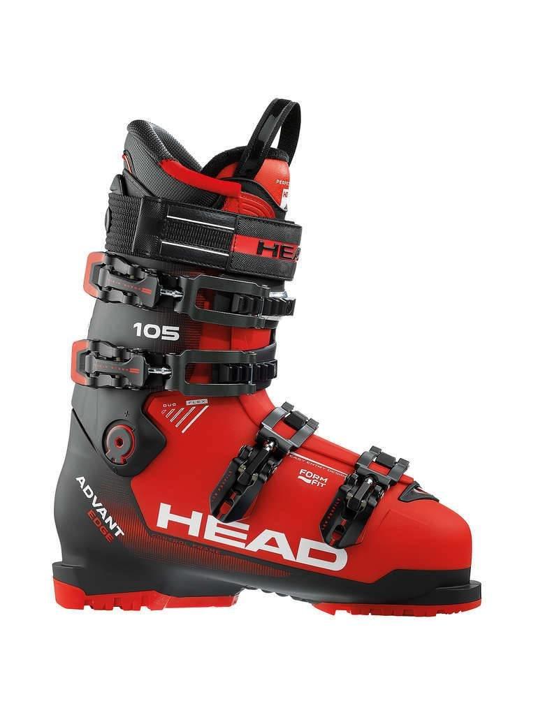 HEAD Head Mens Advant Edge 105 Ski Boot Red/Blk - (17/18)