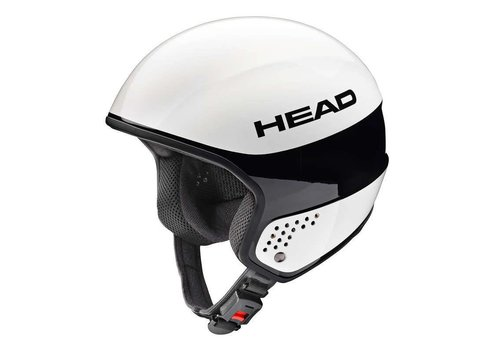 HEAD Head Stivot Race Carbon Helmet White/Black - (17/18)