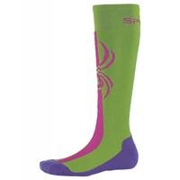 Spyder Girls Swerve Sock 321 Fresh/Raspberry/Iris - (17/18)