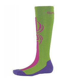 Spyder Girls Swerve Sock 321 Fresh/Raspberry/Iris - (17/18)