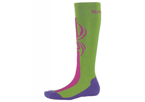 SPYDER Spyder Girls Swerve Sock 321 Fresh/Raspberry/Iris - (17/18)