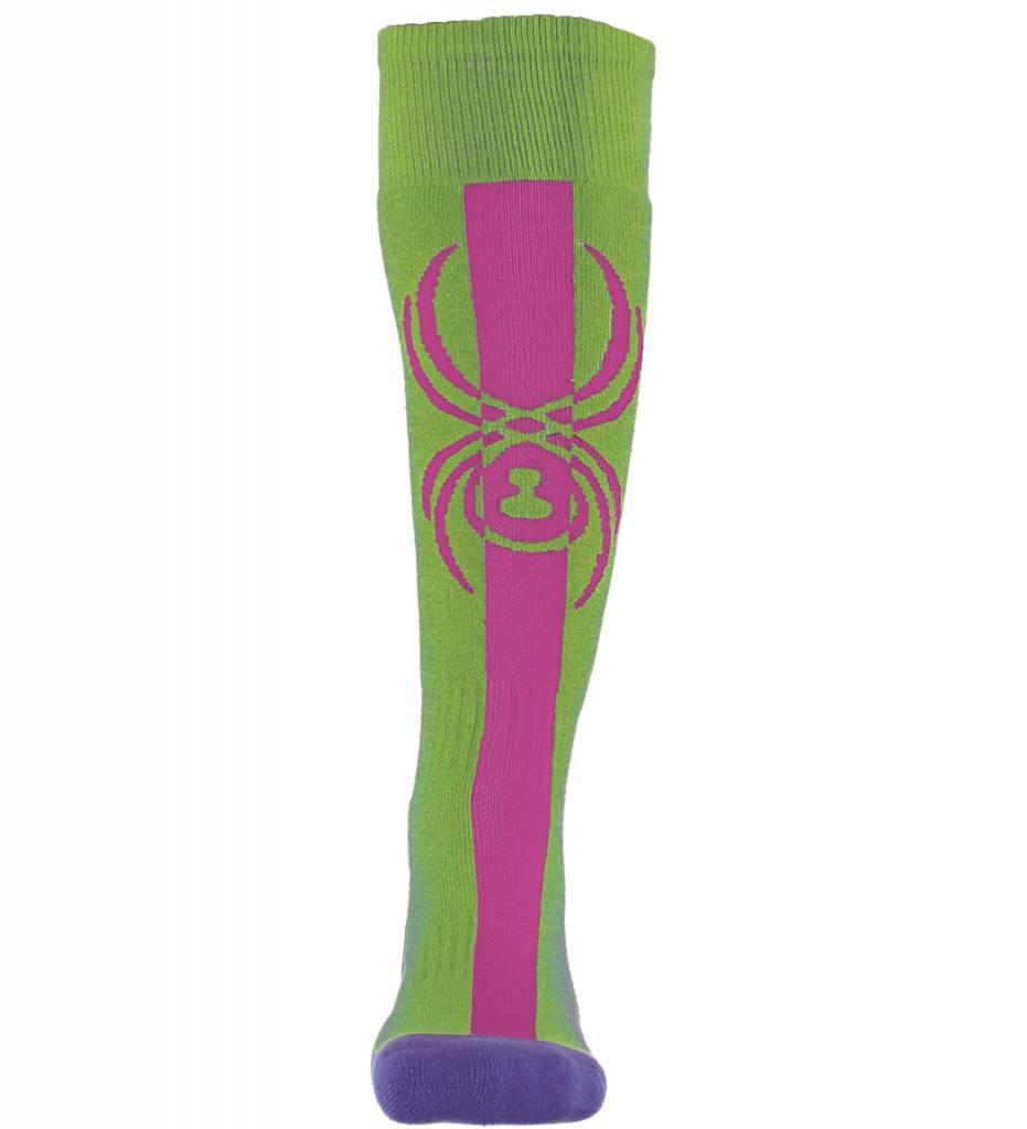 SPYDER Spyder Girls Swerve Sock 321 Fresh/Raspberry/Iris - (17/18)