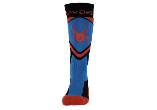 SPYDER Spyder Boys Venture Sock 001 Black/French Blue/Burst - (17/18)