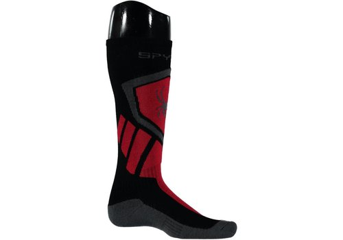 SPYDER Spyder Mens Venture Sock 001 Black/Red/Polar - (17/18)