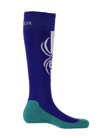 Spyder Womens Swerve Sock 405 Blue My Mind/White/Baltic - (17/18)