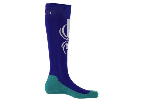 SPYDER Spyder Womens Swerve Sock 405 Blue My Mind/White/Baltic - (17/18)