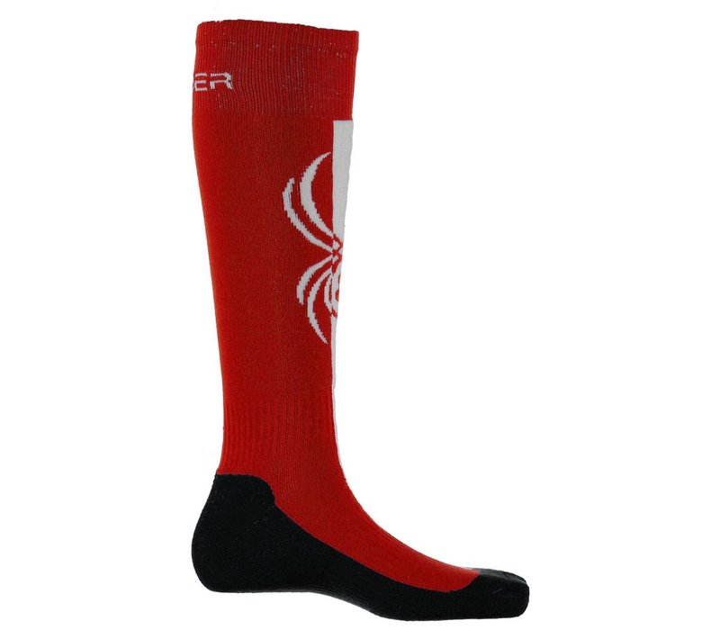 Spyder Womens Swerve Sock 600 Red/Frontier/White - (17/18)