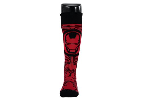 SPYDER Spyder Boys Marvel Bug Out Sock 600 Red/Ironman - (17/18)