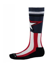 Spyder Boys Marvel Bug Out Sock 402 Frontier/Captain - (17/18)