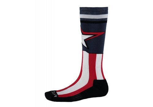 SPYDER Spyder Boys Marvel Bug Out Sock 402 Frontier/Captain - (17/18)