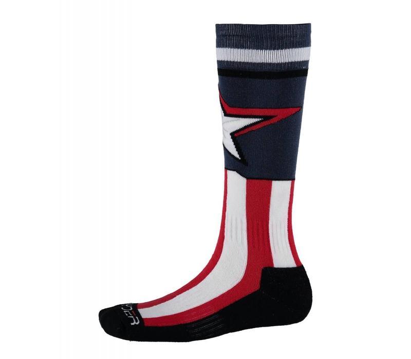 Spyder Boys Marvel Bug Out Sock 402 Frontier/Captain - (17/18)