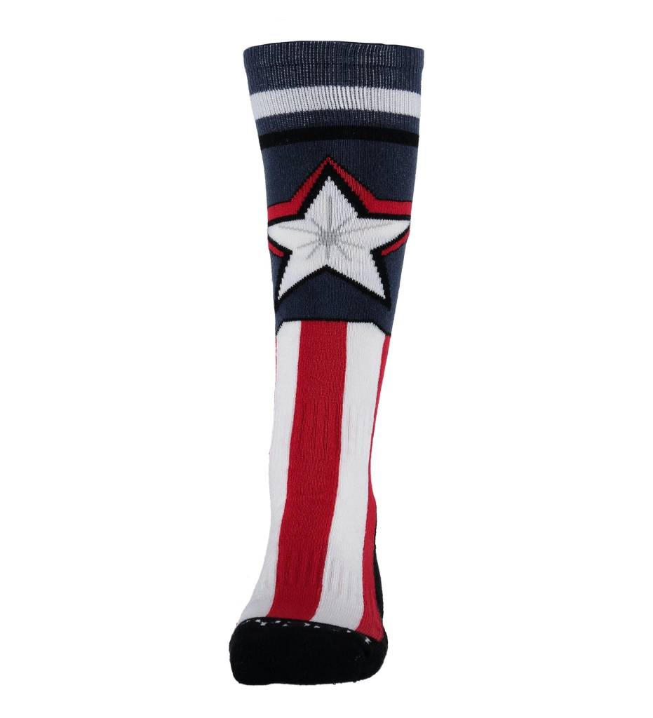 SPYDER Spyder Boys Marvel Bug Out Sock 402 Frontier/Captain - (17/18)