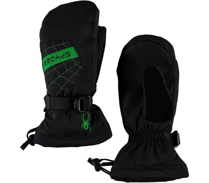 Spyder Boys Overweb Ski Mitten 018 Black/Fresh - (17/18)