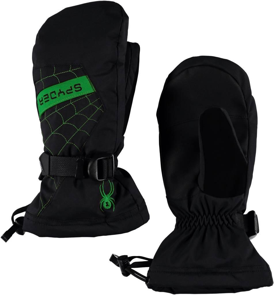 SPYDER Spyder Boys Overweb Ski Mitten 018 Black/Fresh - (17/18)