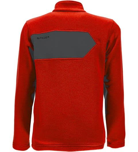 SPYDER Spyder Boys Speed Fleece Top 626 Burst/Polar - (17/18)