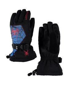 Spyder Boys Marvel Overweb Ski Glove 018 Black/Spiderman - (17/18)