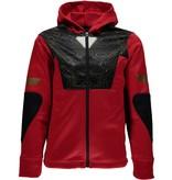 SPYDER Spyder Boys Marvel Riot Full Zip Hoody 600 Red/Ironman - (17/18)