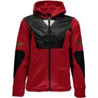 Spyder Boys Marvel Riot Full Zip Hoody 600 Red/Ironman - (17/18)